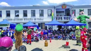 La Policía inicia prevención sobre la seguridad en Porco
