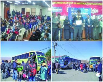 Potosí tiene 119 alumnos para la olimpiada científica nacional