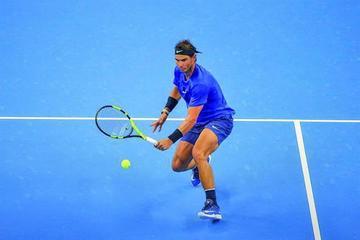 Nadal y Federer juegan la final en Shanghái