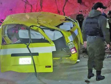 Siete heridos es el resultado de un accidente de minibús