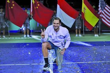 Federer se corona en el Masters de Shanghái