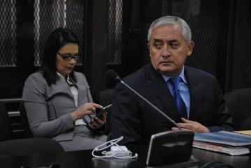 """Otto Pérez Molina denuncia """"show"""" y """"circo político"""" por condena"""