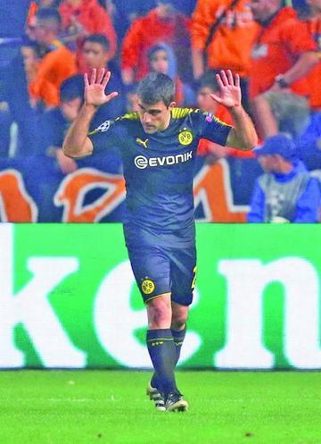 Borussia Dortmund se complica en Nicosia