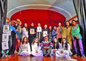 Panchos Teatro actúa en La Paz