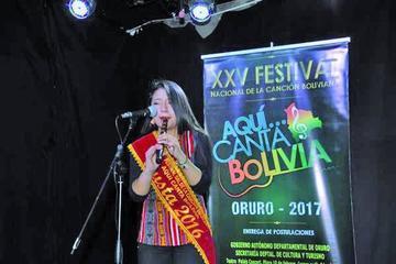 Ultiman detalles en Oruro para el XXV Festival de la Canción Boliviana