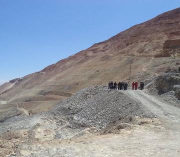 Continúa la excavación en el Cerro Rico