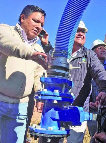 El bombeo continuo de agua La  Palca obligará el ajuste tarifario