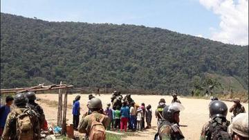 Enfrentamiento en La Asunta por erradicación de coca arroja heridos