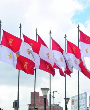 Comienzan los actos por el Día de la Bandera Potosina