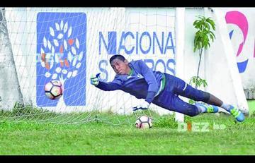Pedro Galindo será el arquero titular en el plantel verdolaga