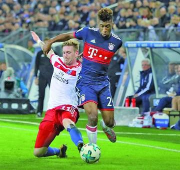Bayern sufre para vencer a Hamburgo