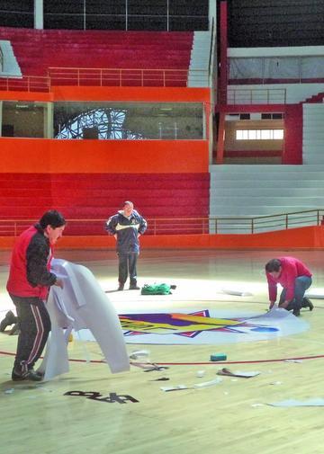 """FIBA inspecciona el coliseo """"Ciudad de Potosí"""""""