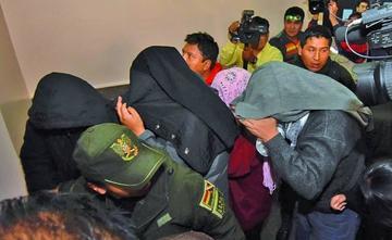 Dictan detención domiciliaria para cuatro implicados en el caso Emapa