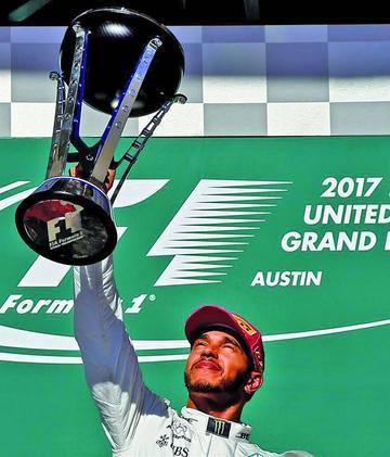 Hamilton gana el GP de Estados Unidos