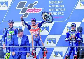 Márquez se adueña del GP de Australia de MotoGP
