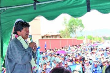 """Presidente Evo Morales niega que su Gobierno sea un """"narcoestado"""""""
