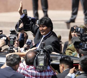 Crece la desaprobación a la gestión de Morales