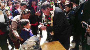 Entregan Bs 35 millones del bono Juancito Pinto en Potosí