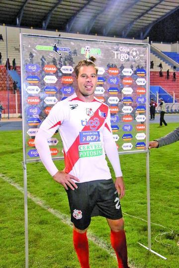 Alessandrini es el goleador histórico de Nacional Potosí
