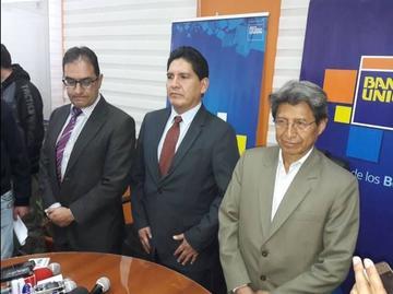 Banco Unión desvincula a otros tres ejecutivos tras caso Desfalco