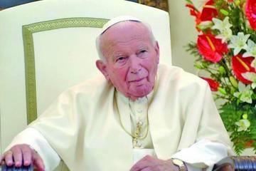 Roban unas  reliquias con  sangre de Juan Pablo II