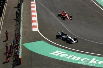 Hamilton es el más rápido en el GP de México