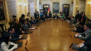 El Gabinete ampliado evaluará la gestión del gobierno de Morales