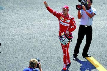 """Vettel logra su """"pole"""" 50 en el GP de México"""