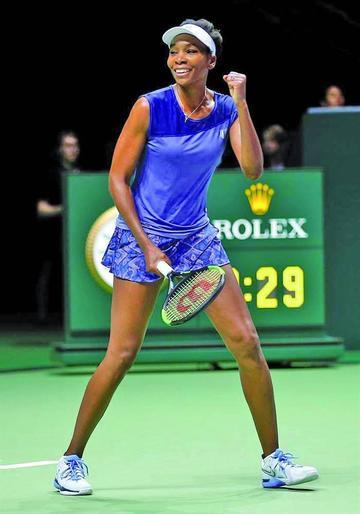 Venus jugara con Wozniacki en la final de Singapur