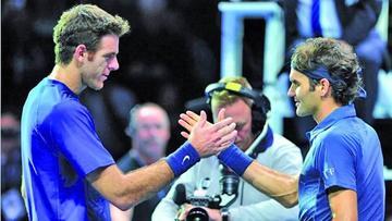 Federer y Del Potro se vuelven a citar en la final del torneo de Basilea