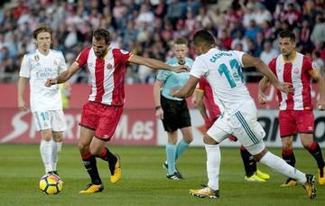 Girona suma los tres puntos a costa de Real Madrid