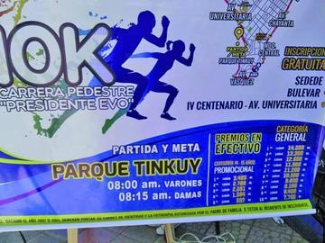 Carrera pedestre 10K quiere llegar a los 12.000 participantes