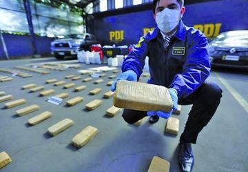 Caen tres bolivianos con 487 k de cocaína en Chile