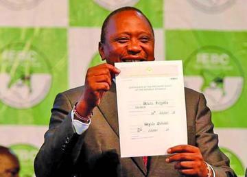 Reeligieron al presidente en Kenia tras repetir la votación