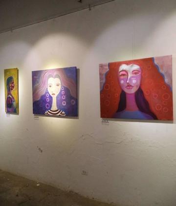 Artista Efraín Serpa ofrece la muestra sobre princesas