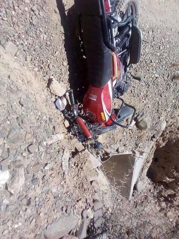 Motociclista muere tras una colisión con un auto