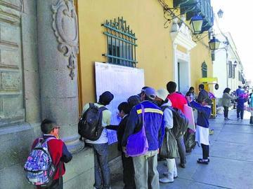 Corre plazo para las excusas de jurados electorales en Potosí