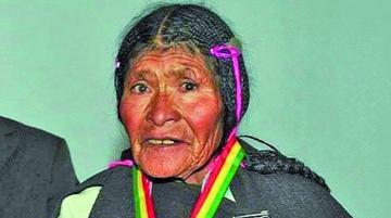 Hallan en Oruro a Sebastiana Kespi