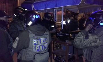 Policía ejecuta operativo en Barrio Chino y esperan datos