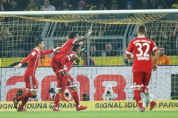 Bayern Münich derrota a Borussia Dortmund