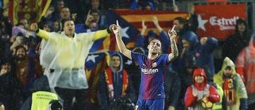"""Barcelona vence a Sevilla en el """"Camp Nou"""""""