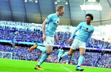 Manchester City sigue su racha a costa de Arsenal