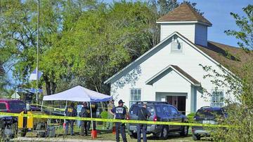 Tiroteo en una iglesia de Texas ocasiona, al menos, 26 muertos