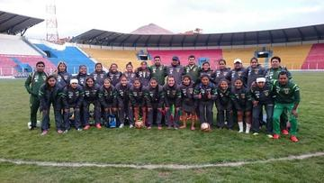 Selección boliviana se concentra en Potosí