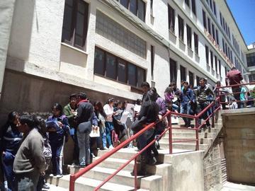 La UATF registra más de 4.000 postulaciones para el examen