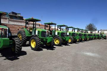 Fiscalía investiga robo  de motores de tractores
