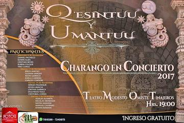 """Esta noche inicia ciclo de conciertos de charango """"Q'esintuu y Umantuu"""""""