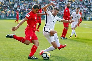 Perú logra un empate y saca ventaja ante Nueva Zelanda