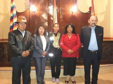 Concejo Municipal reconoce a Kareli Quiroga por su trayectoria deportiva