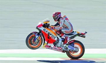Márquez sentencia los entrenamientos del GP de la Comunidad Valenciana de MotoGP